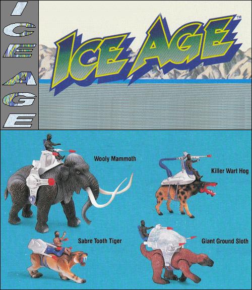 DINO-RIDERS (Tyco) 1988 Ice20a10