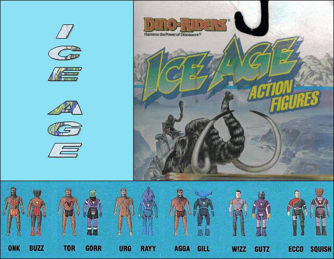 DINO-RIDERS (Tyco) 1988 Iceage10