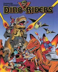 DINO-RIDERS (Tyco) 1988 Series10