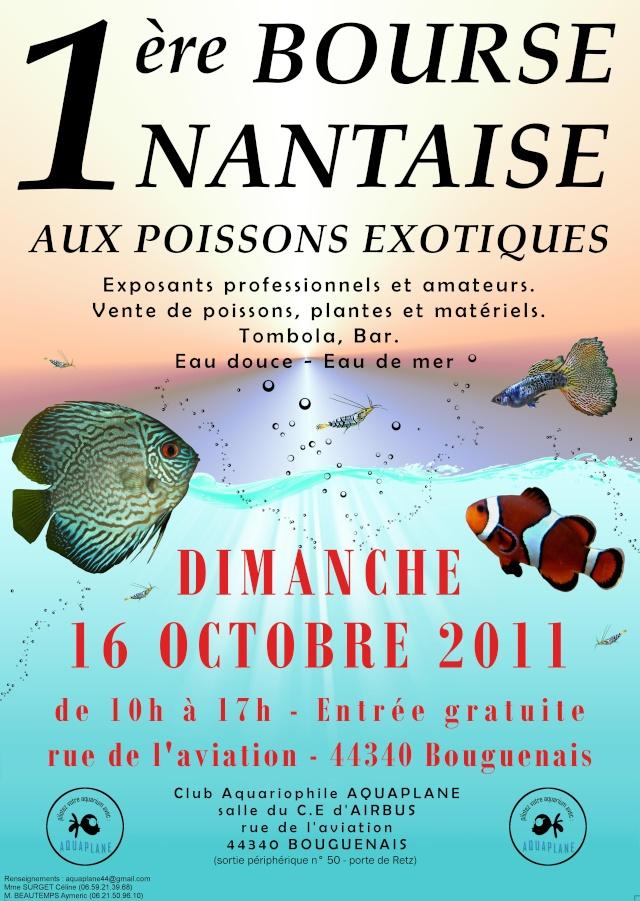 Bourse aquariophilie nantaise le 16 octobre Affich10