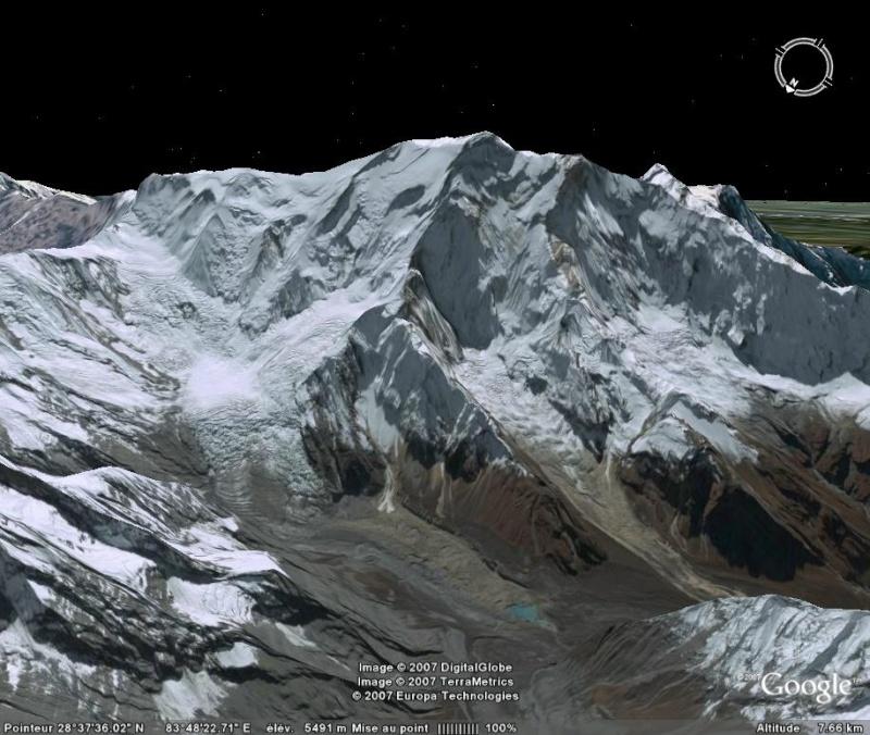 Les 14 sommets de plus de 8 000 mètres Annapu11