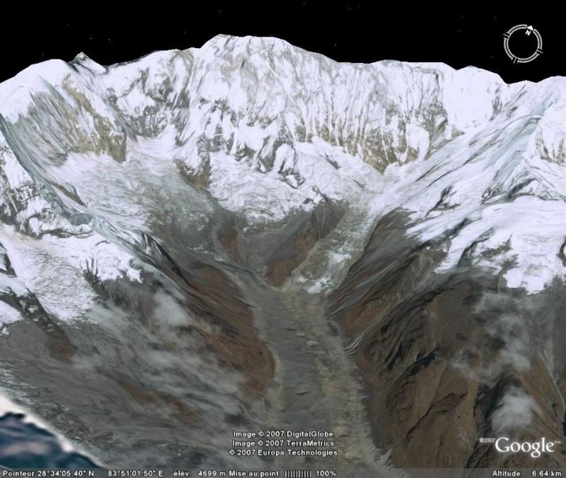 Les 14 sommets de plus de 8 000 mètres Annapu12