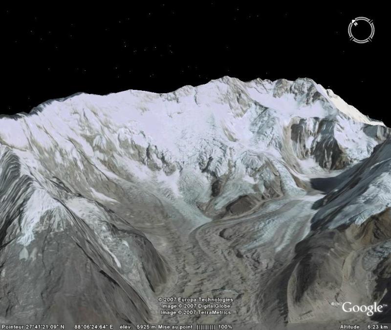 Les 14 sommets de plus de 8 000 mètres Kangch12