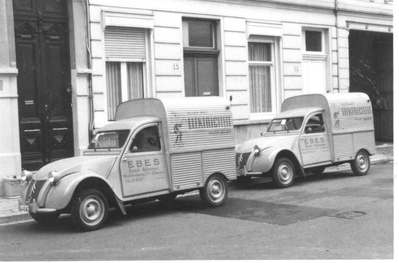 2cv azuls pour postes belges Citroe10