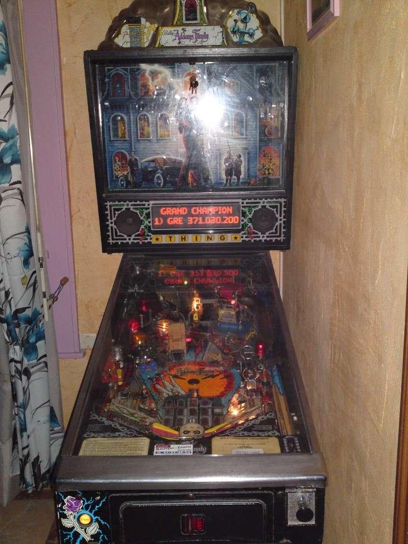 [Vendu] Flipper Addams Family pinball 08211