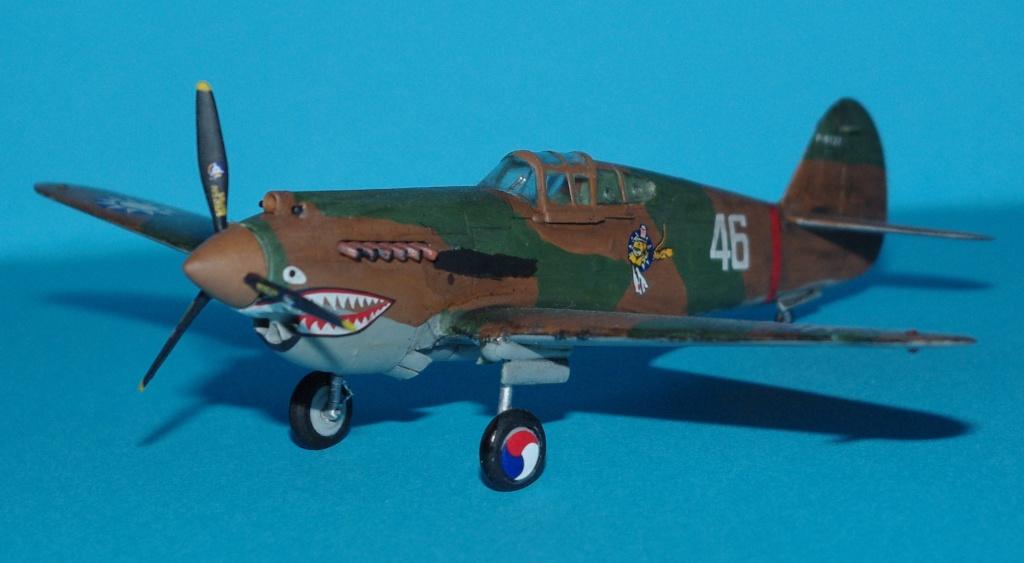 P40 C trumpeter 1/72 Flying tiger Imgp5215