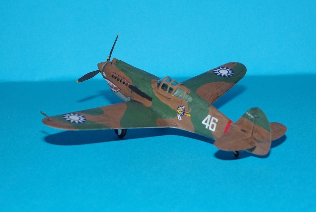 P40 C trumpeter 1/72 Flying tiger Imgp5216