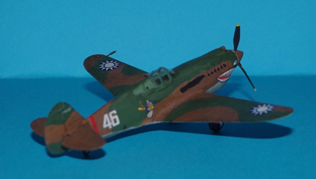 P40 C trumpeter 1/72 Flying tiger Imgp5217