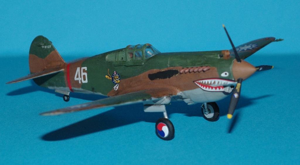 P40 C trumpeter 1/72 Flying tiger Imgp5218