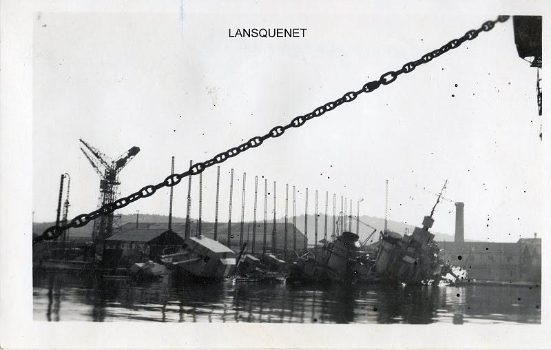 [Histoire et histoires] Toulon : Sabordage de la Flotte (photos) - Page 2 Lansqu10