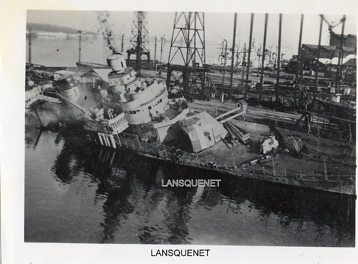 [Histoire et histoires] Toulon : Sabordage de la Flotte (photos) - Page 2 Lansqu11