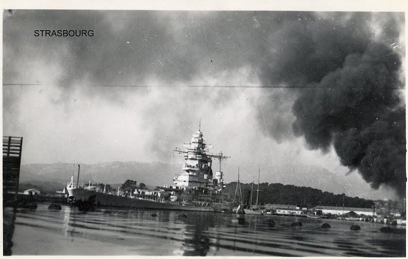 [Histoire et histoires] Toulon : Sabordage de la Flotte (photos) - Page 2 Strasb11