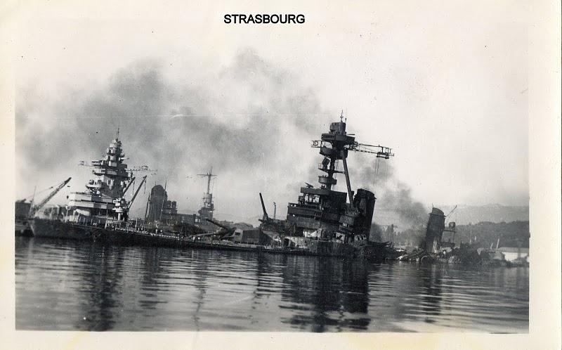 [Histoire et histoires] Toulon : Sabordage de la Flotte (photos) - Page 2 Strasb17