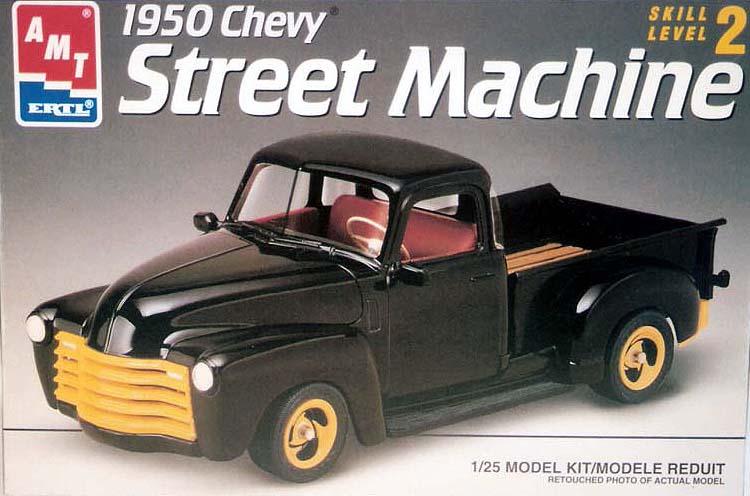 CHEVY 50 pickup (mon premier custom) Numeri15