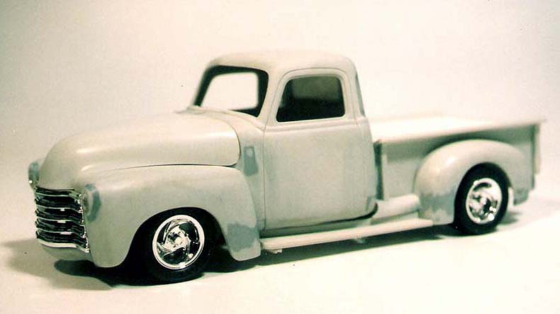 CHEVY 50 pickup (mon premier custom) Numeri16