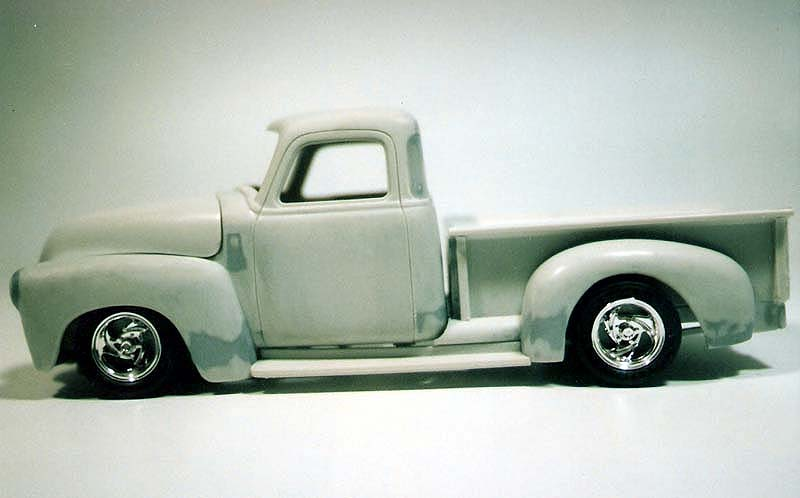 CHEVY 50 pickup (mon premier custom) Numeri17
