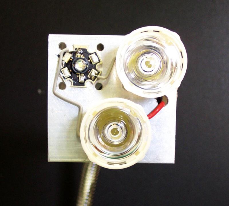 Eclairage annulaire à LEDS pour macro-photo Luxeon11