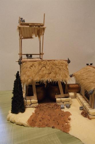 -Peinture/maquette- Brasserie Brasse15