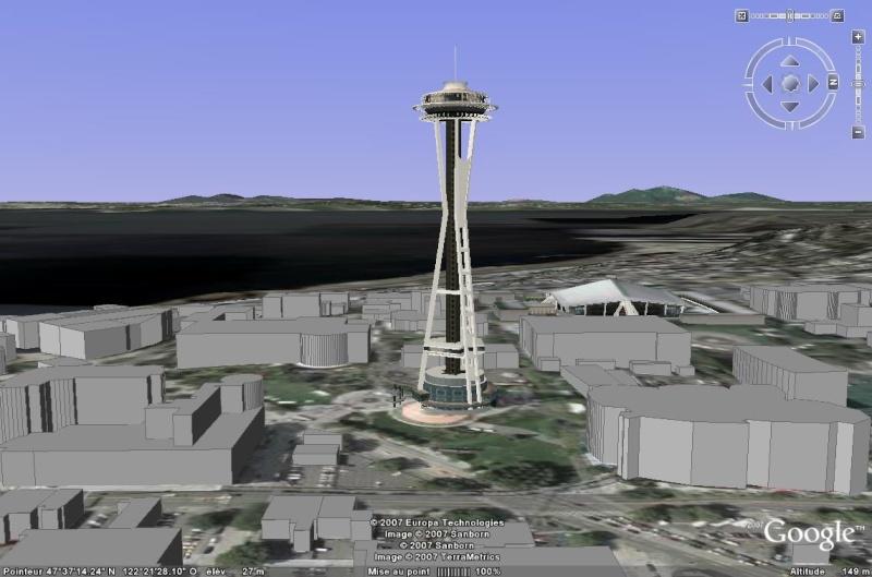 Le Space Needle de Seattle, USA Space_10