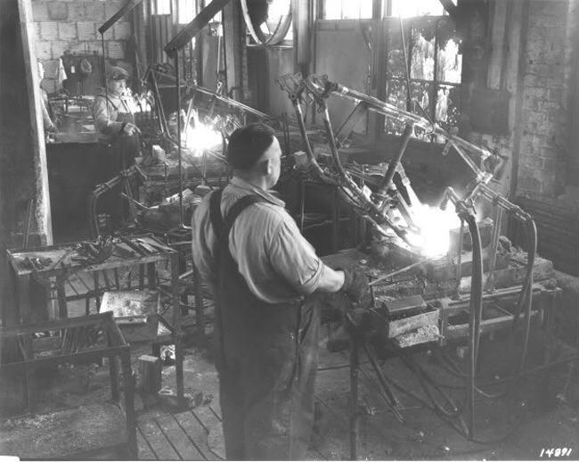 usine HD aux USA 19148810
