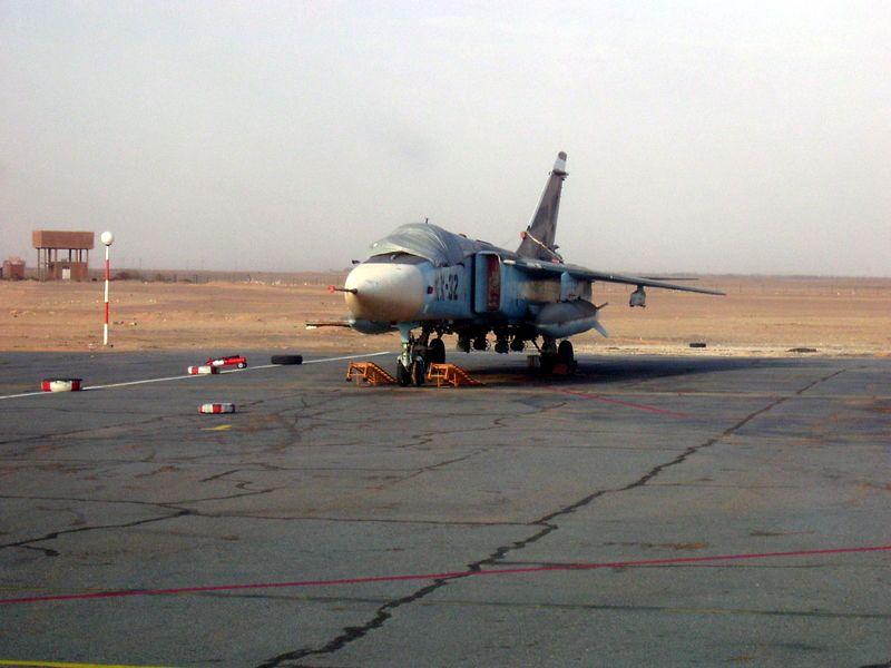 الطائرة المقاتلة المتعددة المهام السو-24  (SU – 24 (Sukhoi Sukhoi10