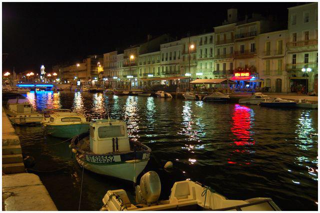 magie de la nuit .... ville de Sète Dsc_0024