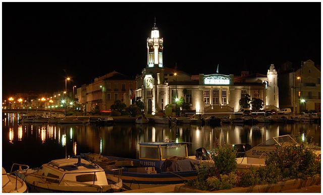 magie de la nuit .... ville de Sète Dsc_0025