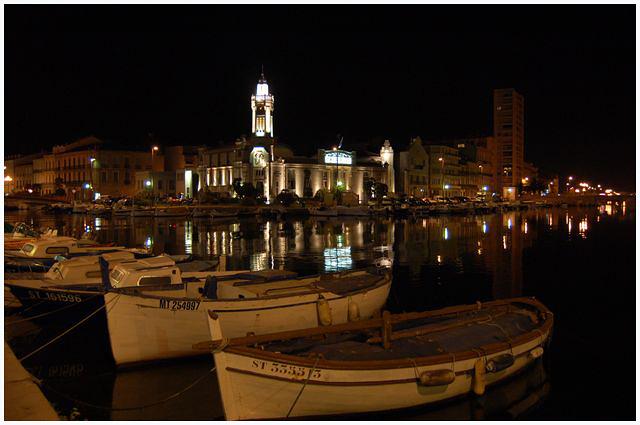 magie de la nuit .... ville de Sète Dsc_0027