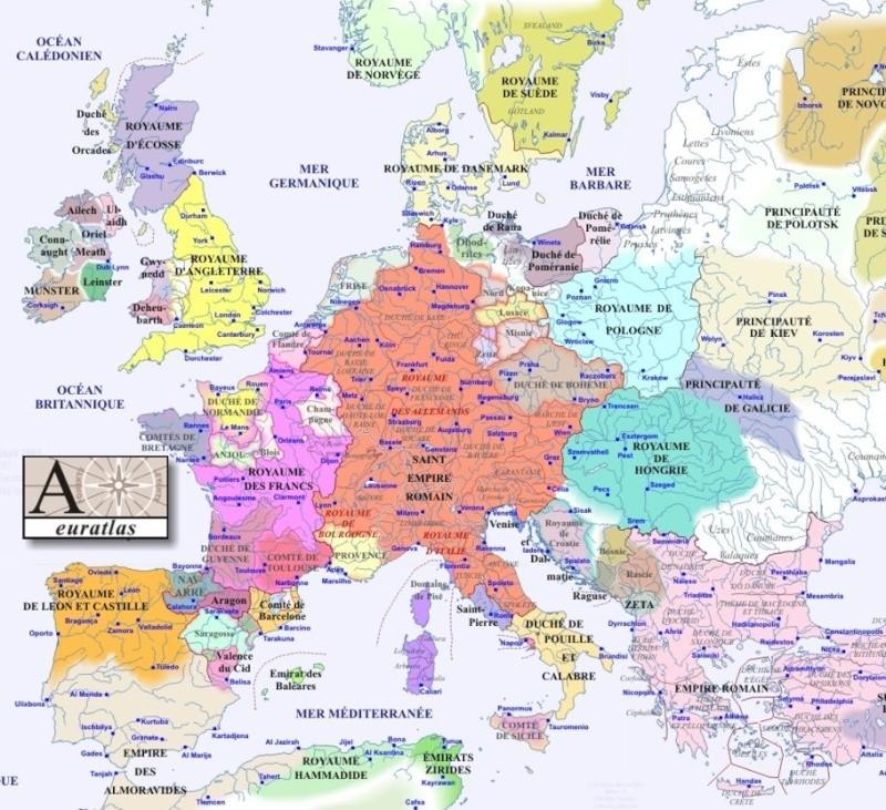 Europe Total War : Guerre de Corruption [M2TW] Europe11