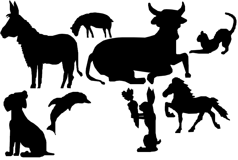 Brushs Animaux, Personnages Asupry10