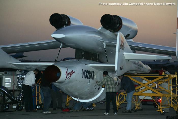 Des moteurs canadiens pour le futur White Knight 2 Xprize12