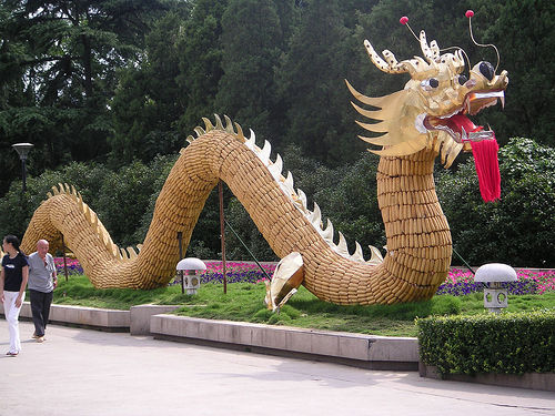 Dragon légende monumentale Chine10