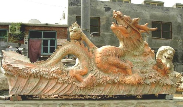 Dragon légende monumentale Chine_10