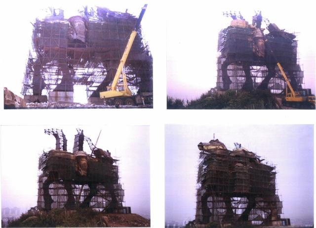 Statues monumentales Horsem10