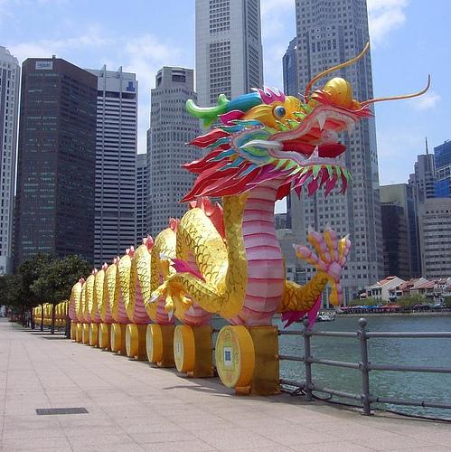 Dragon légende monumentale Singap10