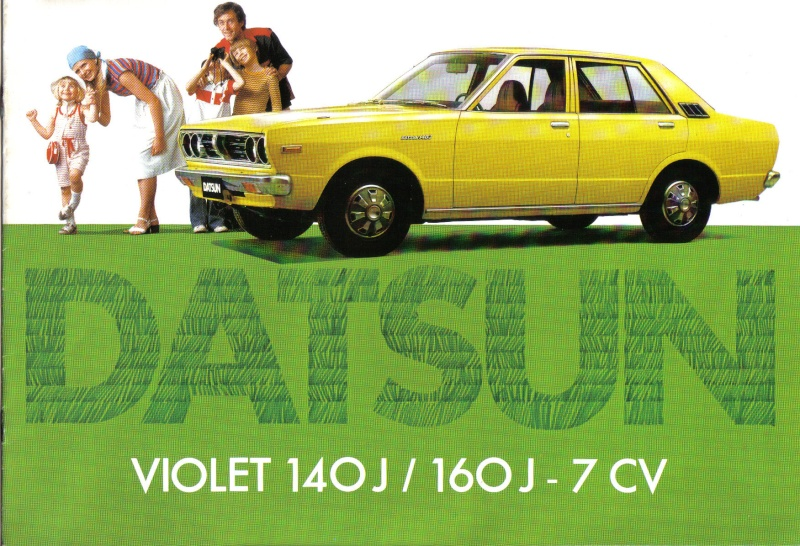 Topic officiel DATSUN VIOLET 140J & 160JSSS type LA10/PA10  1978_p10