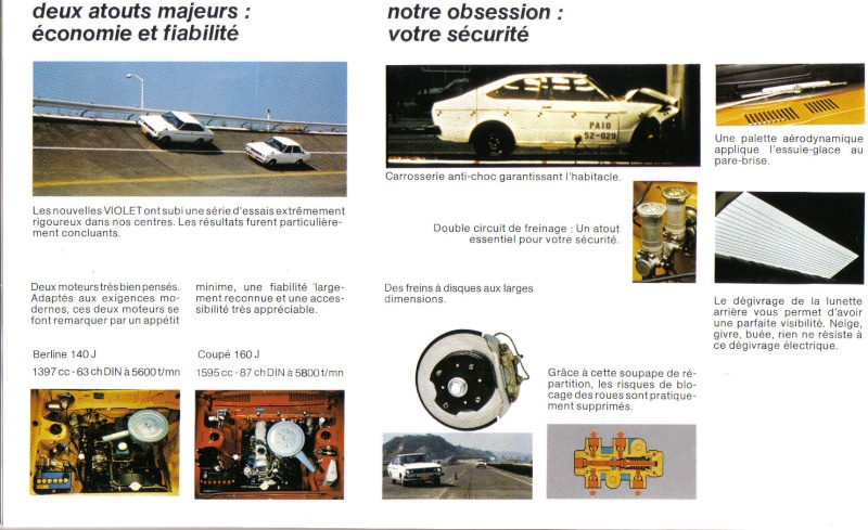 Topic officiel DATSUN VIOLET 140J & 160JSSS type LA10/PA10  1978_p15