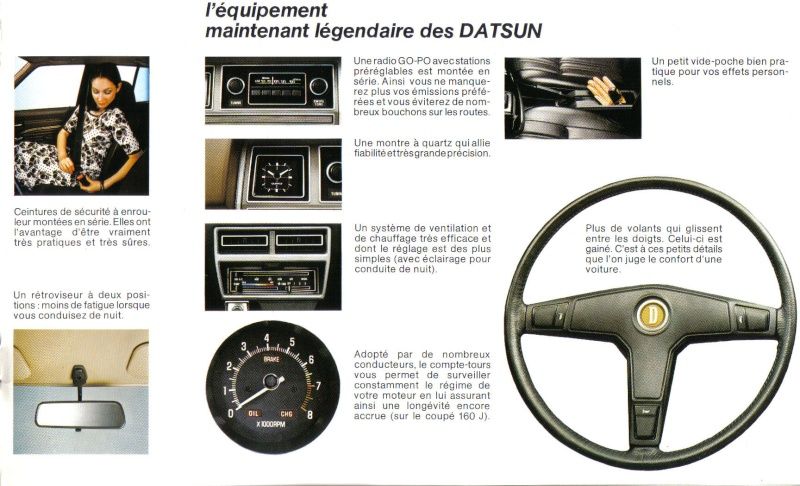 Topic officiel DATSUN VIOLET 140J & 160JSSS type LA10/PA10  1978_p18