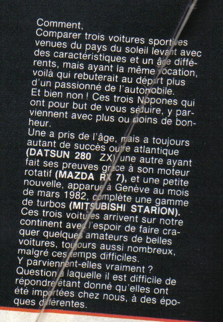 [TOPIC OFFICIEL] MAZDA RX7 MKI 1978  Articl11