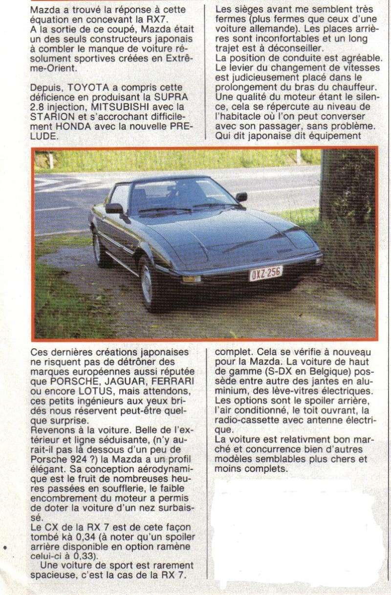 [TOPIC OFFICIEL] MAZDA RX7 MKI 1978  Articl13