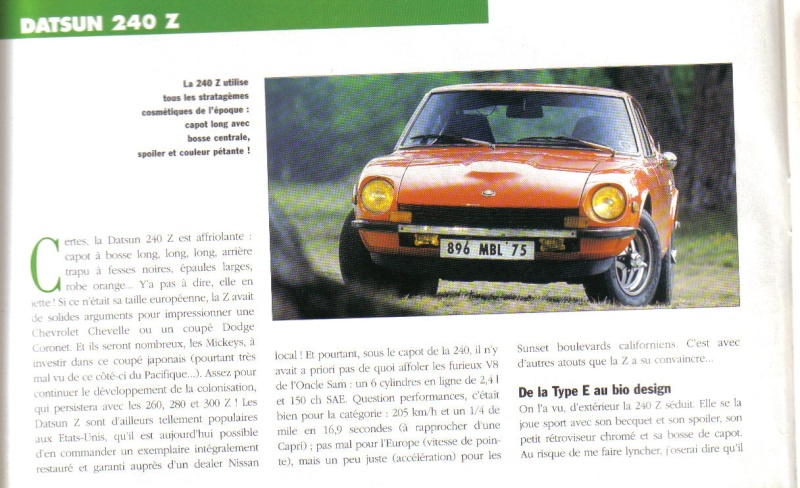 Topic officiel DATSUN 240Z Auto_r36