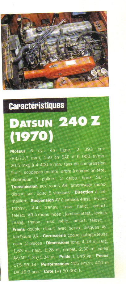 Topic officiel DATSUN 240Z Auto_r39