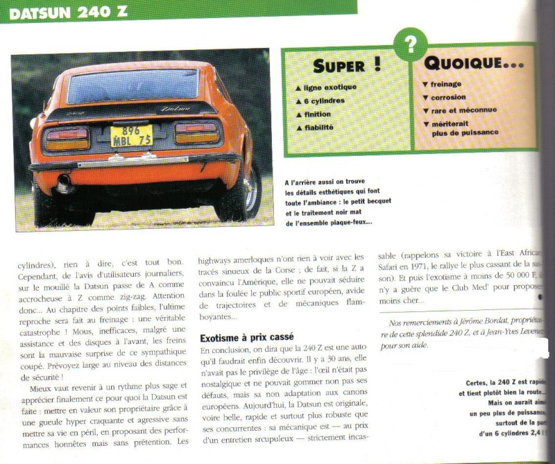 Topic officiel DATSUN 240Z Auto_r42