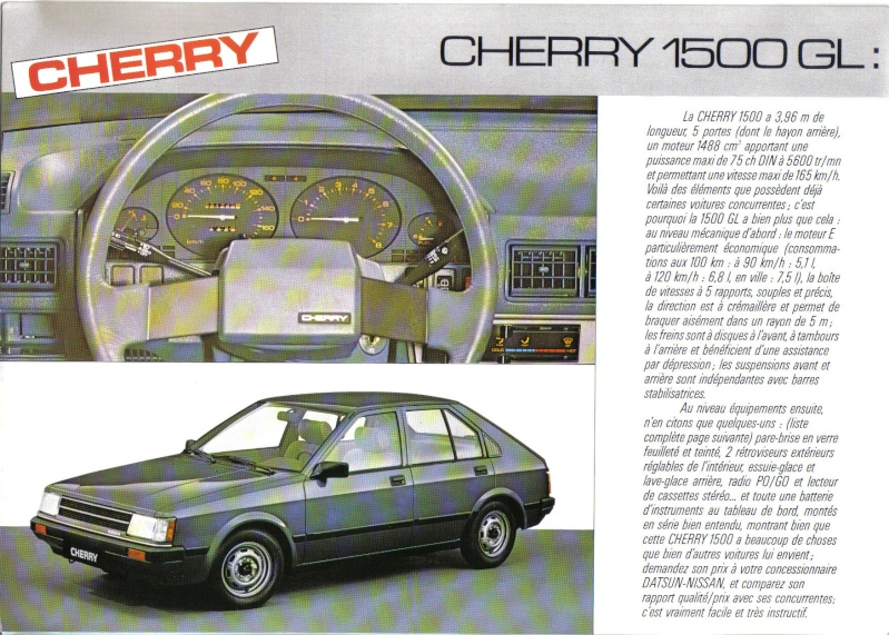 TOPIC OFFICIEL NISSAN CHERRY N12 et N12 TURBO! & N12 PUL Cherry14
