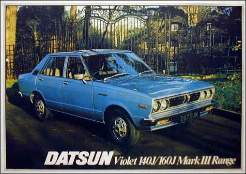 Topic officiel DATSUN VIOLET 140J & 160JSSS type LA10/PA10  Datsun14