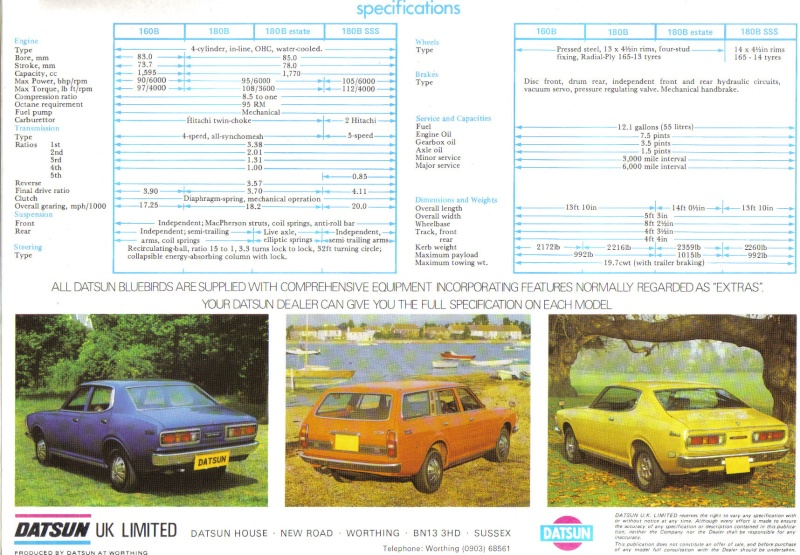 TOPIC OFFICIEL DATSUN 180B: 610 & 810 et 180B SSS Datsun25