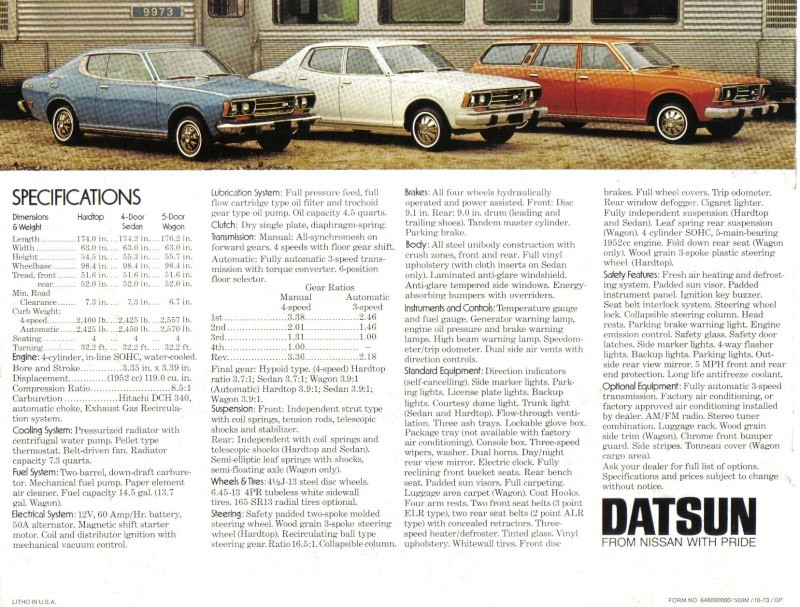 TOPIC OFFICIEL DATSUN 180B: 610 & 810 et 180B SSS Datsun34
