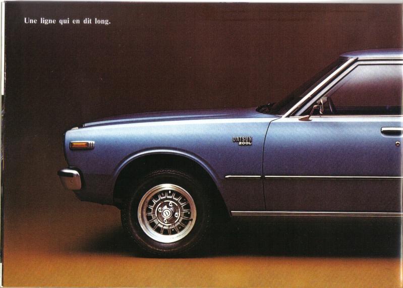 Topic officiel DATSUN LAUREL 200L & 240L Datsun40