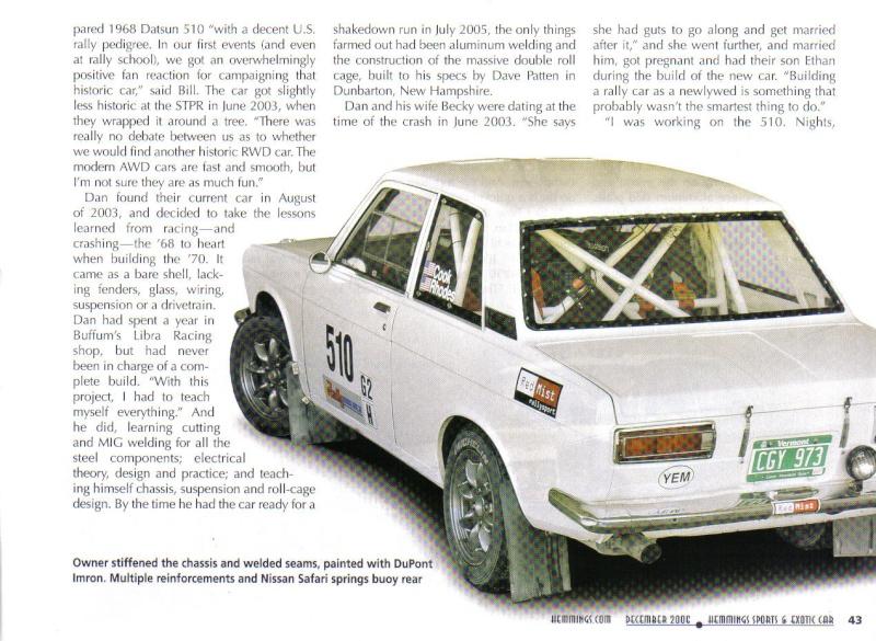 TOPIC OFFICIEL DATSUN 510... Voiture mythique! Datsun60