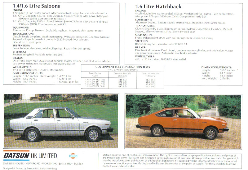 Topic officiel DATSUN VIOLET 140J & 160JSSS type LA10/PA10  Doc_da17